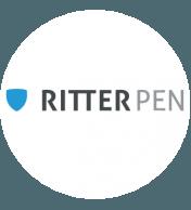 Bedruckte Kugelschreiber von Ritter Pen | HACH Werbeartikel