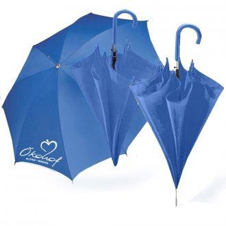 Werbetipp:30 Automatik-Schirme blau inkl. einfarbigem Druck
