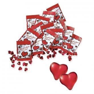 Fruchtgummi-Herzen 100 Tüten Herzlichen Dank