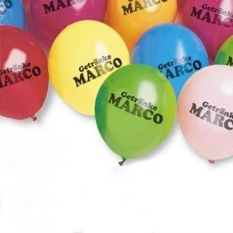 Luftballon inkl. Werbedruck