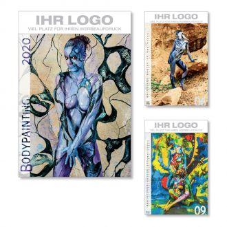 Bildkalender Body-Painting 2020