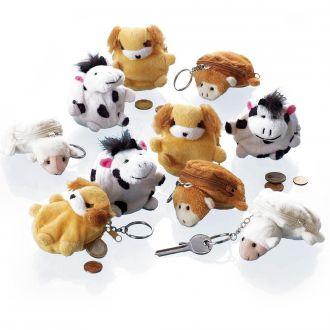 Tier-Geldbörsen 10 Stück