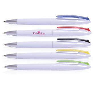 Kugelschreiber LAGO - weiß