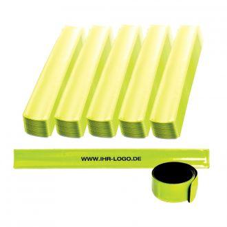 Werbetipp 100 Reflektorbänder inkl. einfarbigem Werbedruck