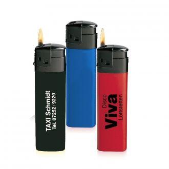 WERBETIPP 300 x Feuerzeuge sortiert inklusive einfarbigem Werbedruck