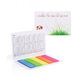 Multi-Card Taschenkalender weiß