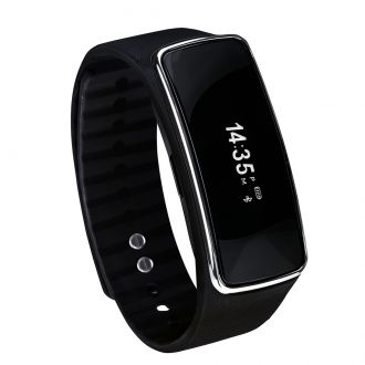 Fitness Smart Watch schwarz