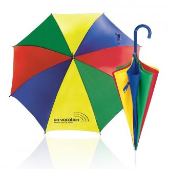 Werbetipp: 36 Schirme bunt inkl. einfarbigem Werbedruck