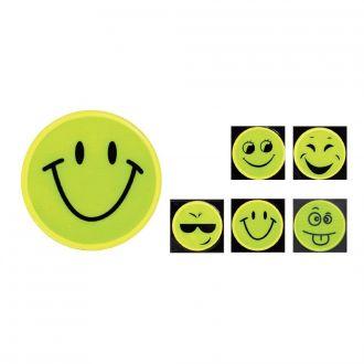 Reflektor Sticker Gesichter sort 25er Set