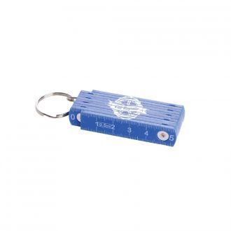 Kunststoff Zollstock mit Schlüsselring