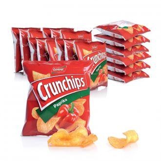 Lorenz Crunchips Paprika 25g Beutel 20er Set / 500g