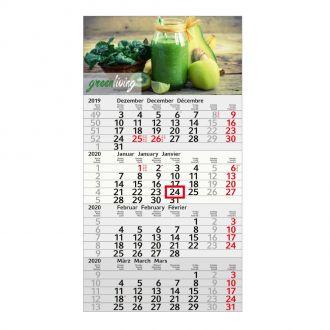 4-Monats-Kalender 2020, Recycling Budget 4
