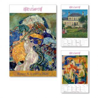 Wandkalender Kunstkalender 2020