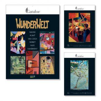 Wandkalender Wunderwelt 2020