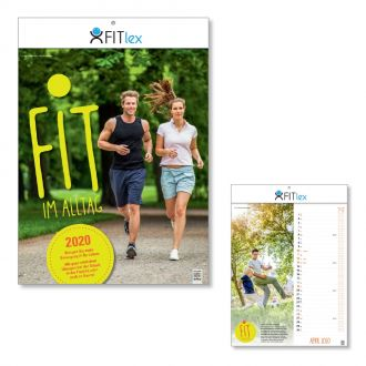 Wandkalender Fitness-Kalender 2020 - Fit im Alltag -