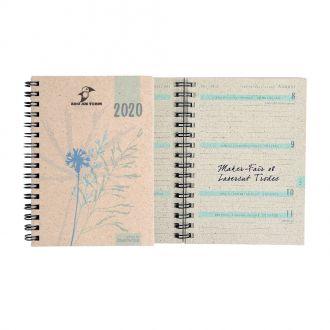 Graspapier Taschenkalender