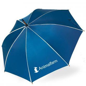 Werbetipp: 25 Schirme blau inkl. einfarbigem Werbedruck