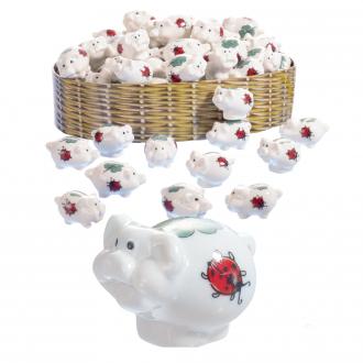 Mini-Glücksschweine 72 Stück