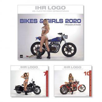 Wandkalender Bikes & Girls 2020
