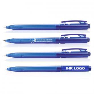 Werbetipp: 800 Schreiber blau inkl. einfarbigem Werbedruck
