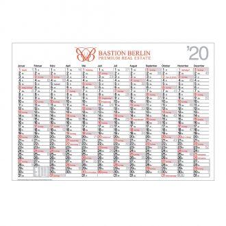 Plakatkalender groß inkl. 4c Digitaldruck