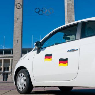 Automagnetflagge Deutschland