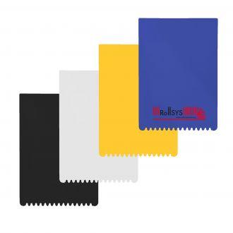 Eiskratzer Rechteck in 4 Farben, 14,7 x 10,3 cm