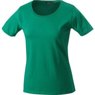 James & Nicholson Ladies Basic-T Irish-Green