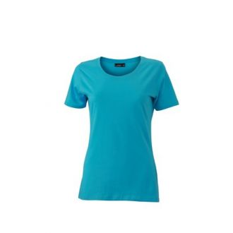 James & Nicholson Ladies Basic-T Pacific