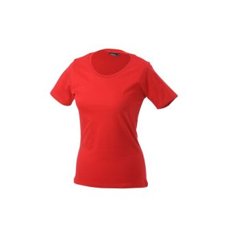 James & Nicholson Ladies Basic-T Rot