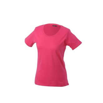 James & Nicholson Ladies Basic-T Pink