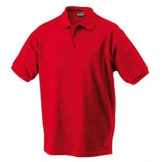 James & Nicholson Classic Polo red