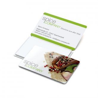 Multi Card Haftnotiz weiß Complete