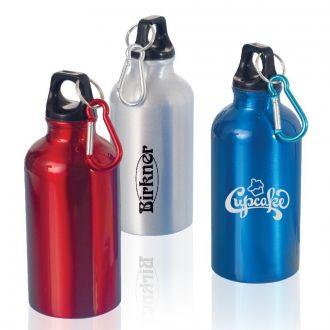 Trinkflasche mit Karabiner